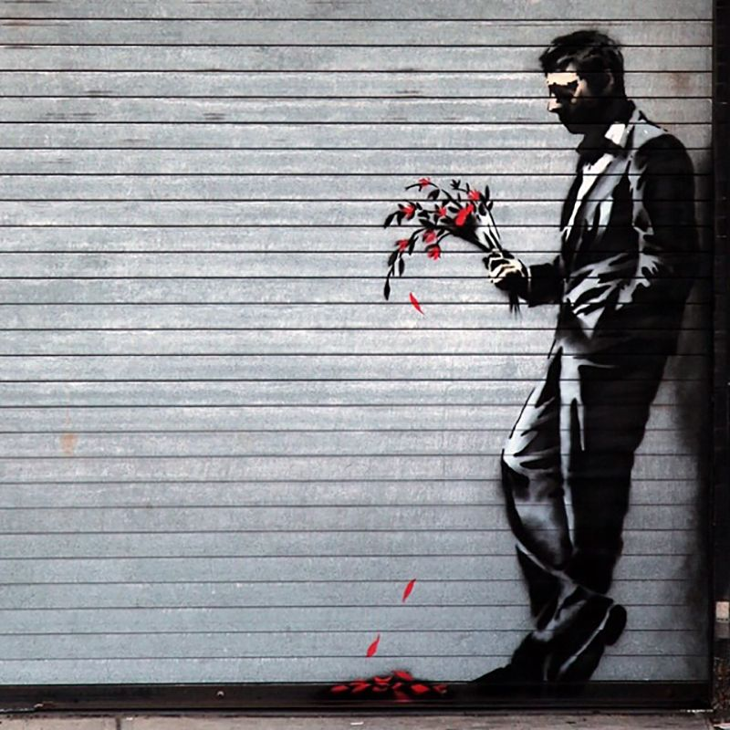 Must-See Banksy Street Art Around the World #banksyart