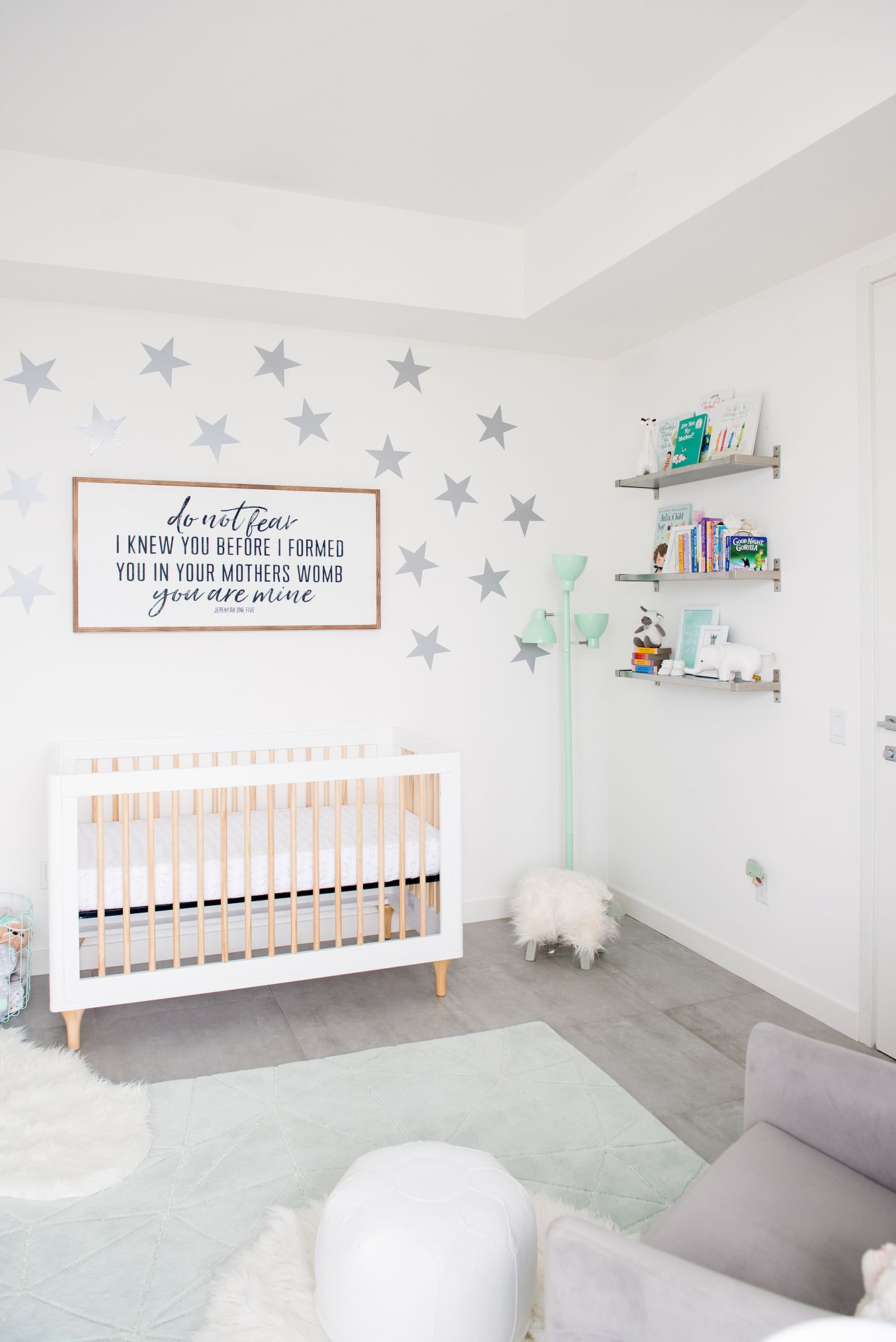Circle Of Life Mint And Gray Neutral Nursery Project Nursery