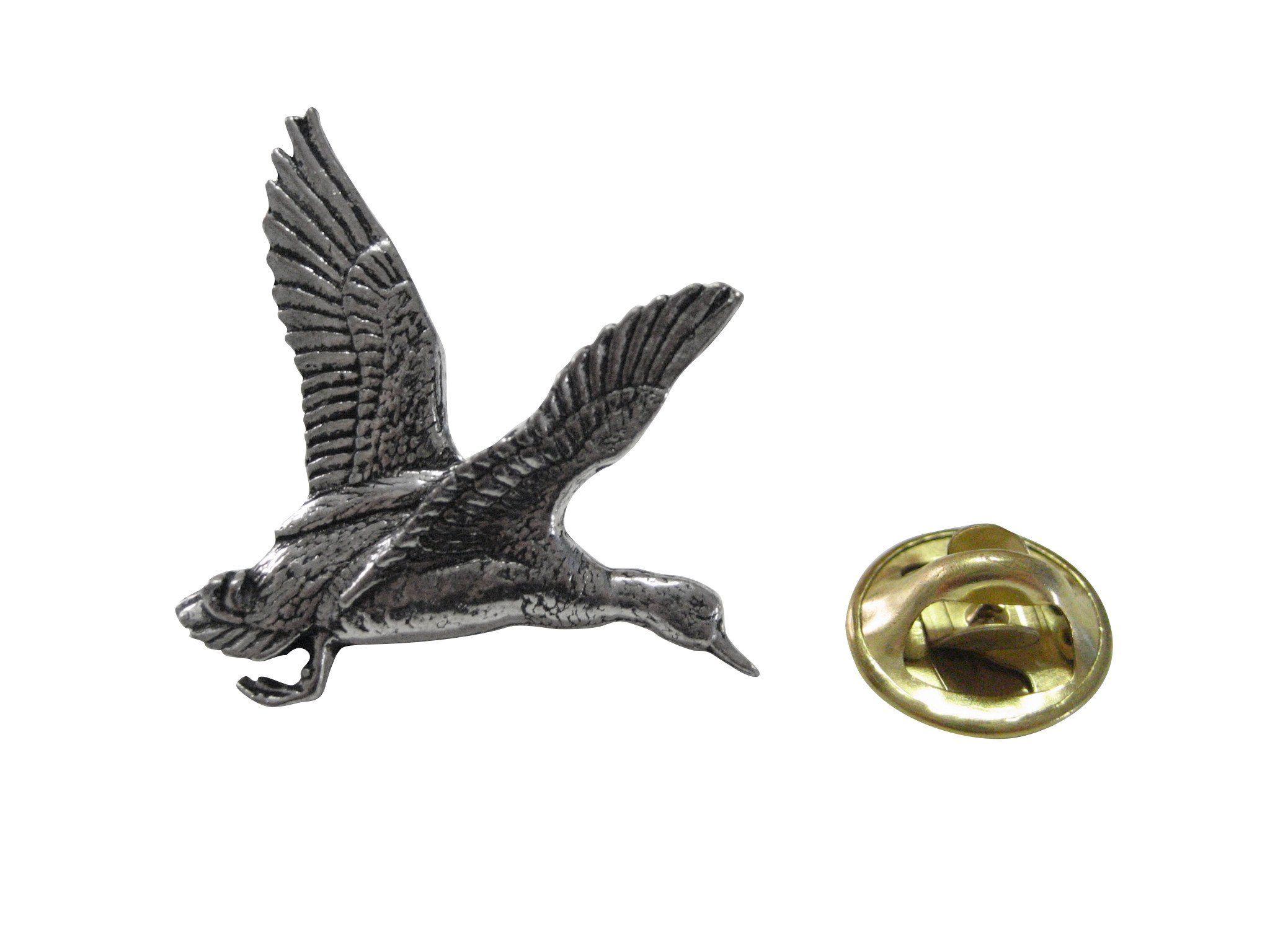 Kiola Designs Bird Feather Lapel Pin