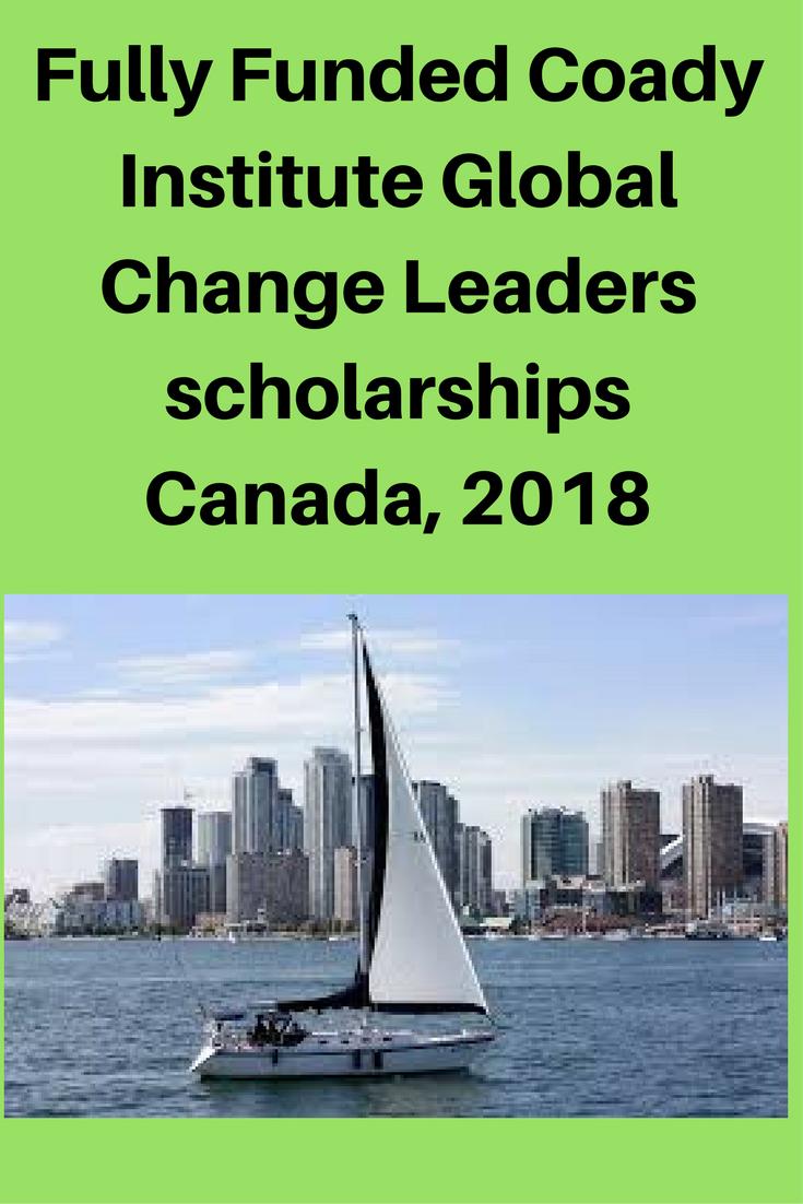 The Global Change Leaders Program Through Coady Institute S International Center For Women S Leadersh Scholarships For College Scholarships Scholarships Canada