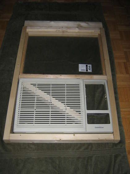 Mounting A Standard Air Conditioner In A Sliding Window From The Inside Without A Bracket Air Conditioner Installation Window Air Conditioner Window Air Conditioner Installation