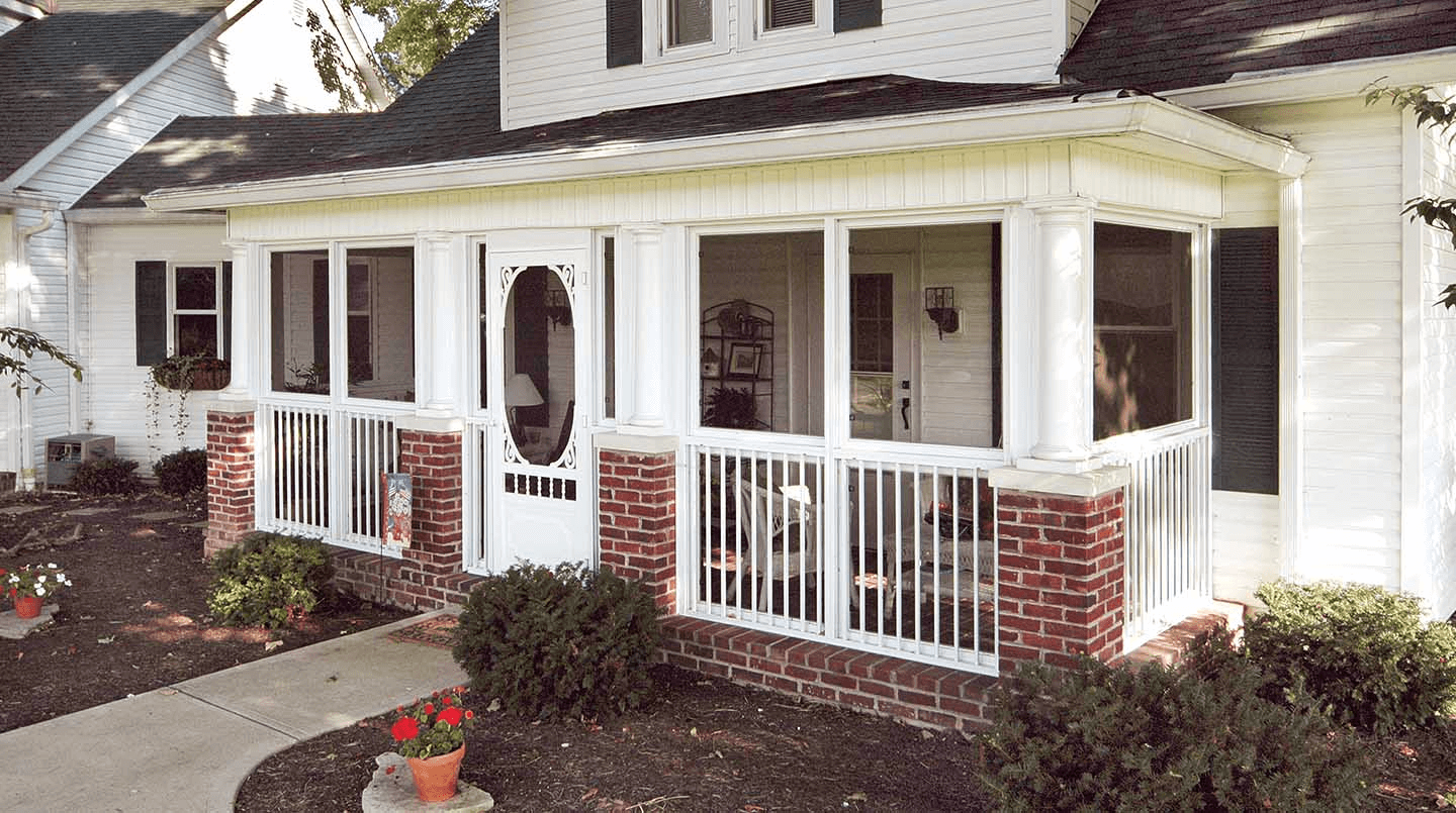 Front Porch Enclosure Ideas Porch Design Screened Front
