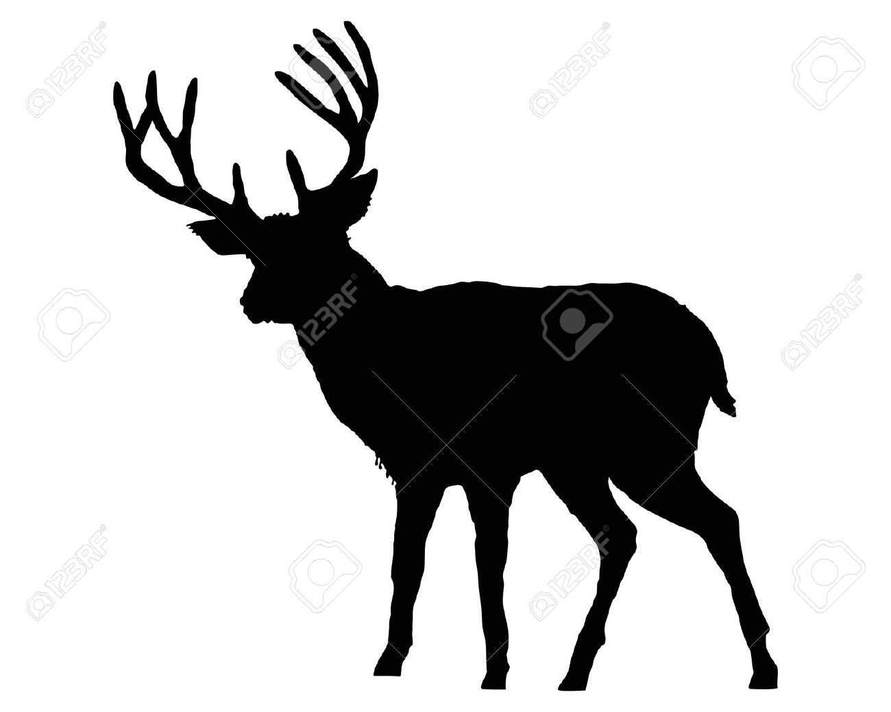 stag silhouette - Google Search
