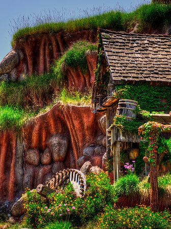 The Mill  At first glance you might not have recognized where this photo was taken. Of course the rocky texture of Splash Mountain in the background might have already given that away. I love this little mill. It really gives...    Read more here at Tours Departing Daily