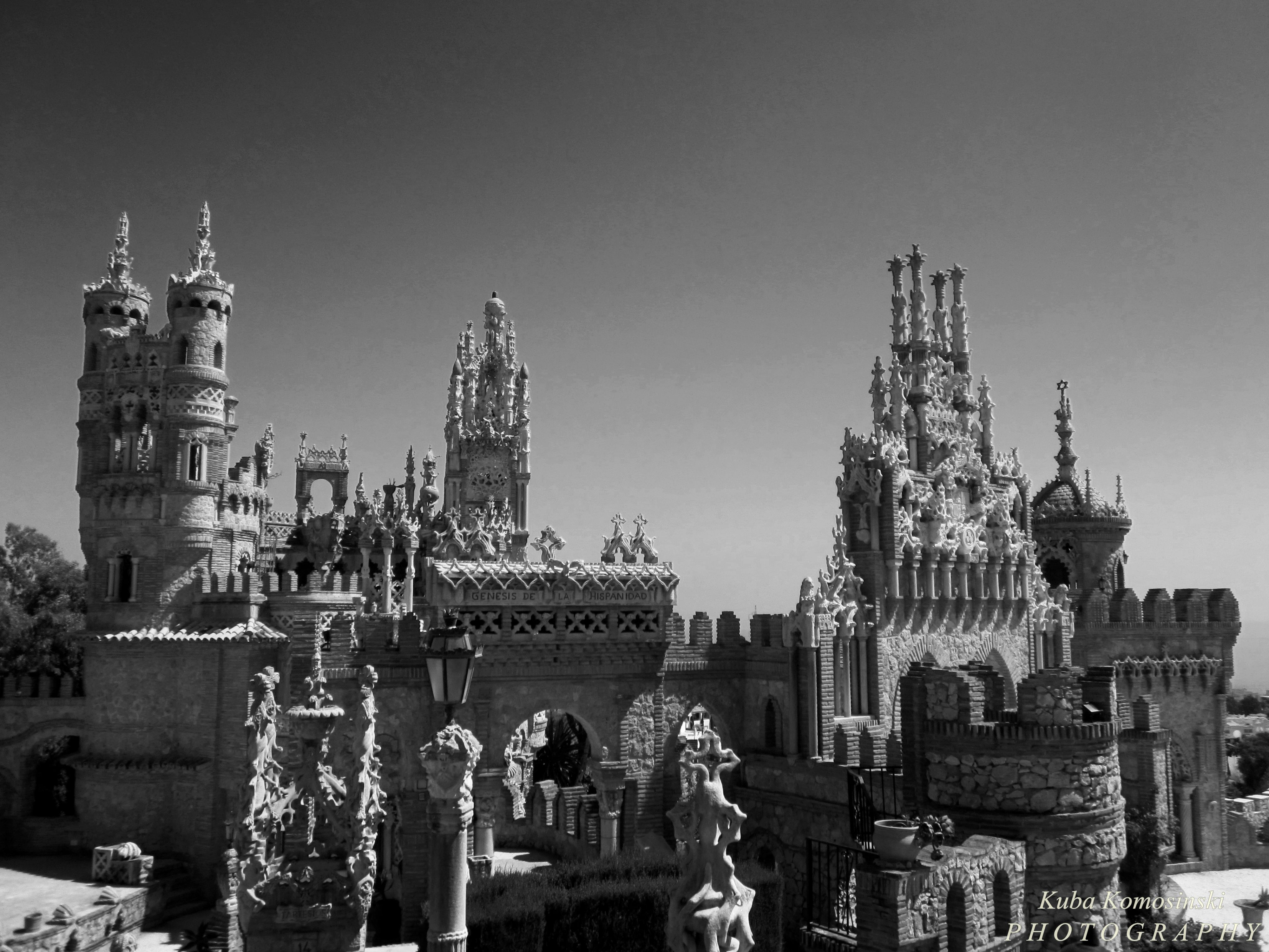 Castle, Spain, Hand Made