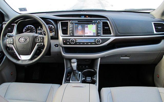 2016 Toyota Highlander Interior Toyota Highlander Interior