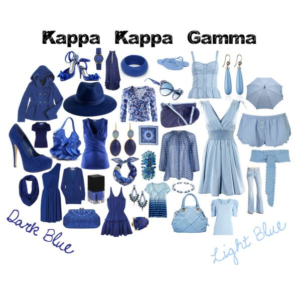 424ccb82 adding on a hair accessory like a headband or hat would be cute Kappa Kappa  Gamma