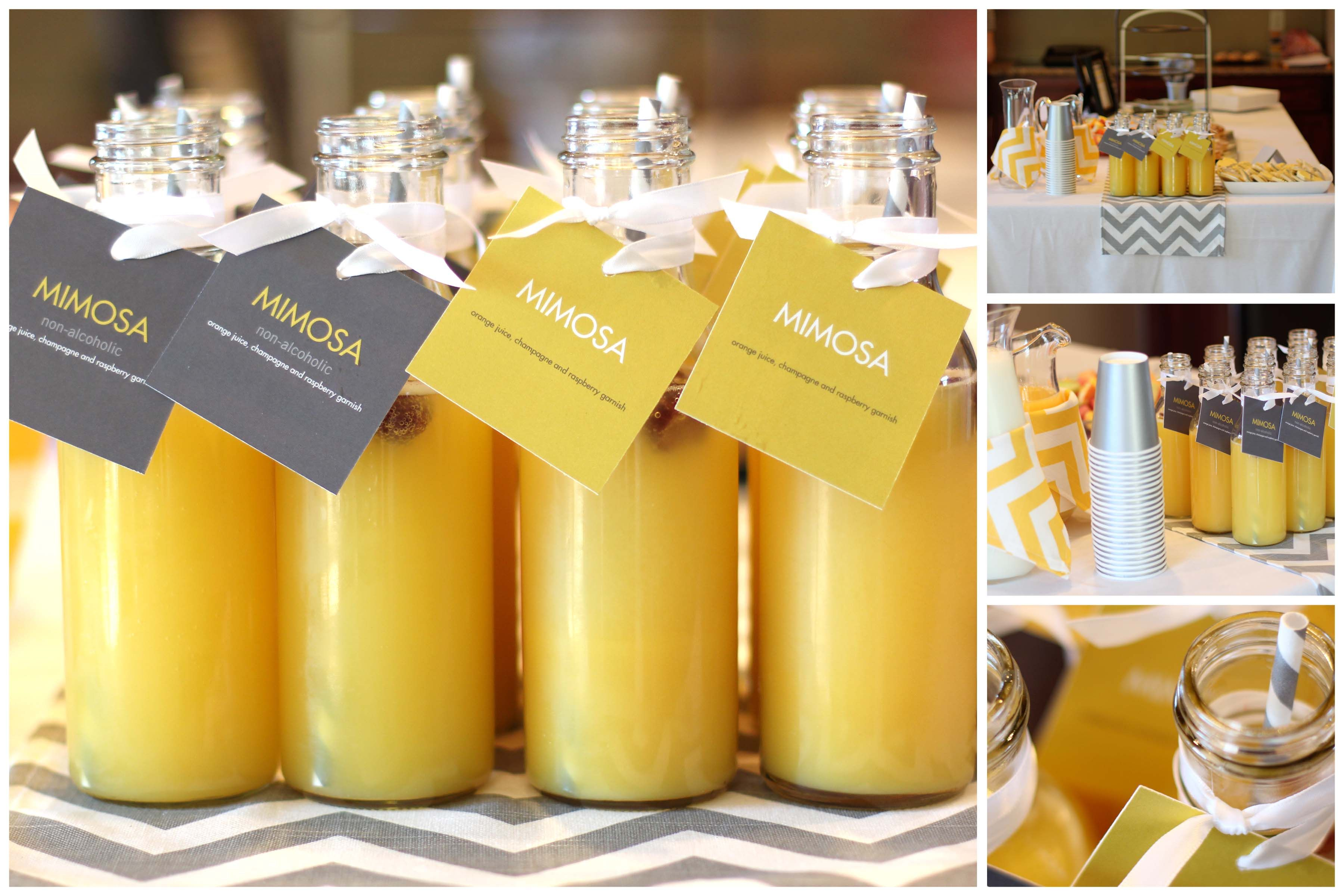 Baby Shower Themed Drinks ~ Get inspired with these baby shower ideas from peartreegreet