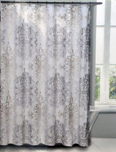 Shower Curtains By Heidihoeller On Pinterest Fabric Shower Curtains Shower Curtains And