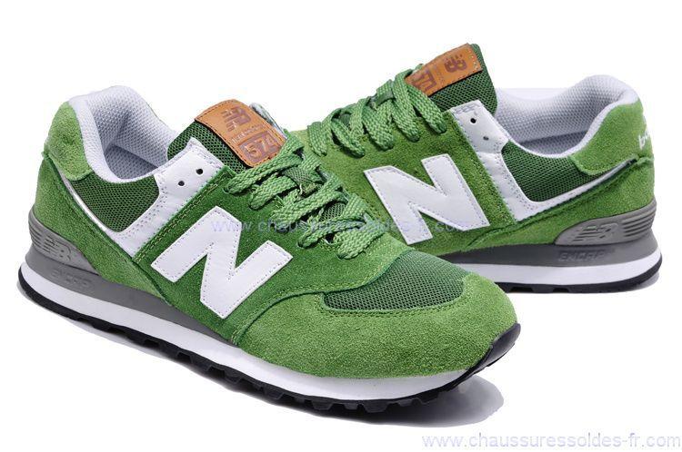 new balance 574 vert femme