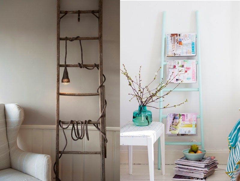 Escaleras viejas para decorar, ideas creativas que cambiaran el ...
