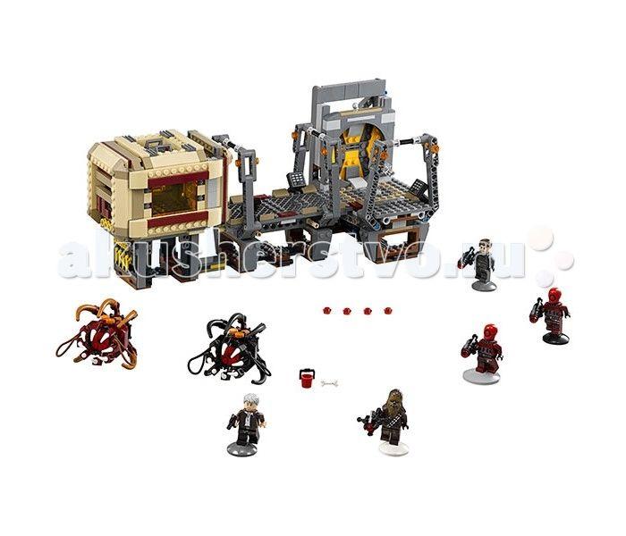 Конструктор Lego Звездные войны Побег Рафтара 836 элементов  Конструктор Lego Звездные войны Побег Рафтара 836 элементов 75180 вызовет восторг у поклонников легендарной космической саги. Грандиозный набор включает в себя фрагмент фантастического корабля, оснащенного несколькими игровыми зонами, пять мини-фигурок, два рафтара и дополнительные аксессуары, среди которых оружие, запасные снаряды, ведерко и кость для кормления монстров.  Благодаря потрясающему набору Star Wars, ребенок воссоздаст…