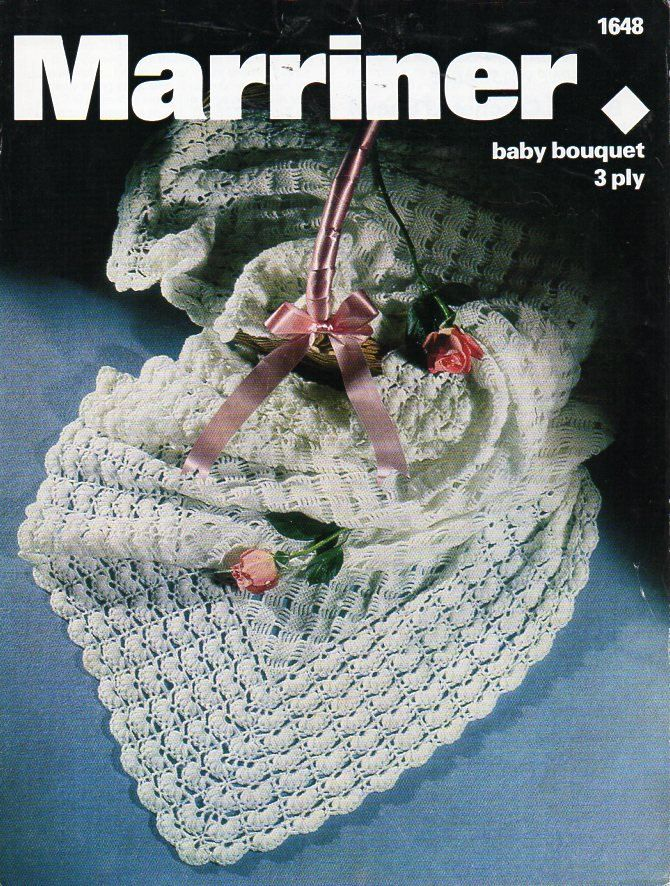 Baby crochet shawl crochet pattern pdf 3ply crochet shawl square ...