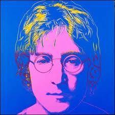 Andy Warhol — John Lennon