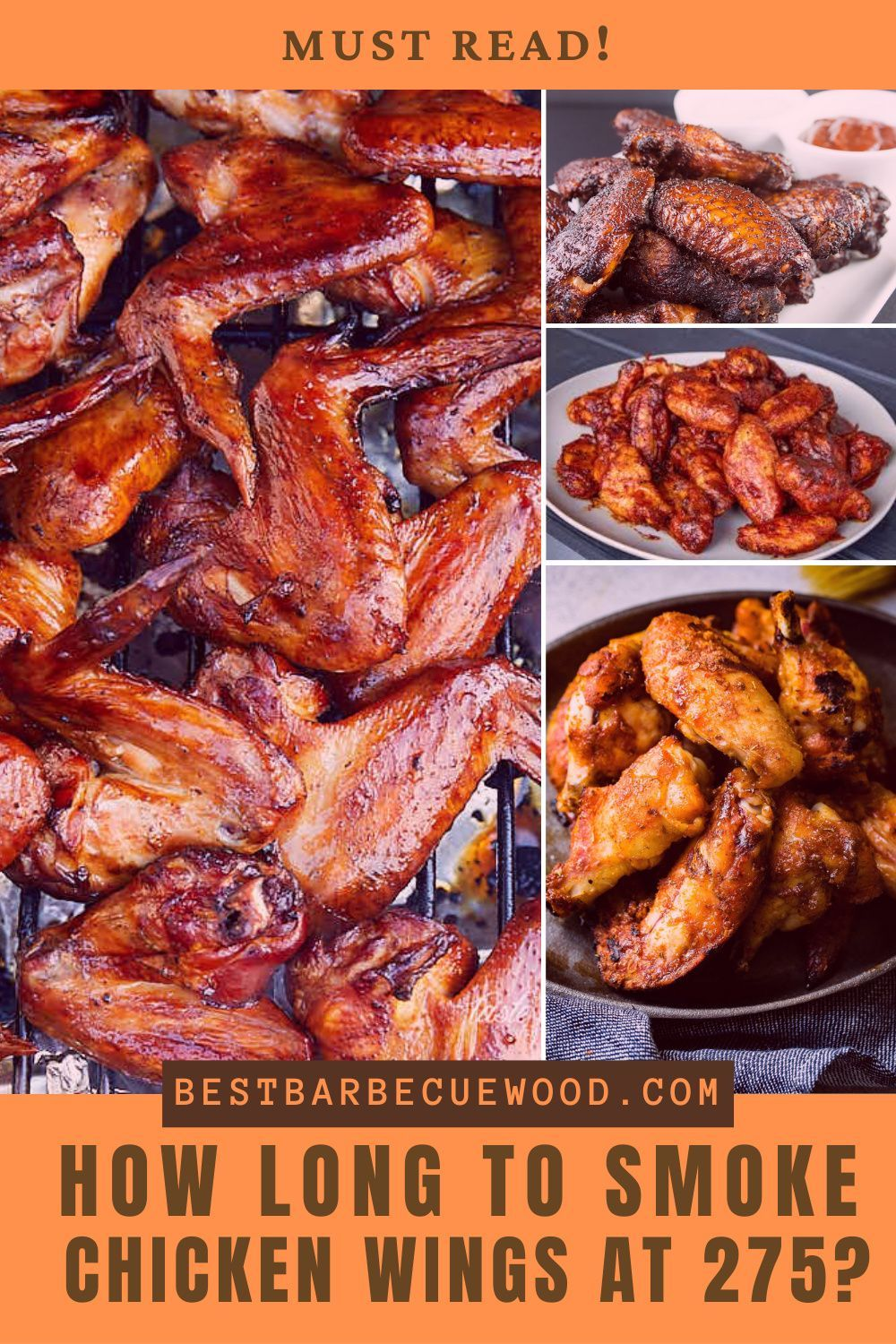 How Long To Smoke Chicken Wings At 275 Chicken Wings Smoked Food Recipes Smoked Chicken