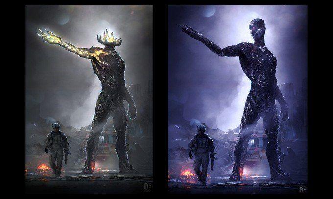 Concept Art De Los Centinelas En X Men Dias Del Futuro Pasado Alien Concept Art Concept Art Concept Art World