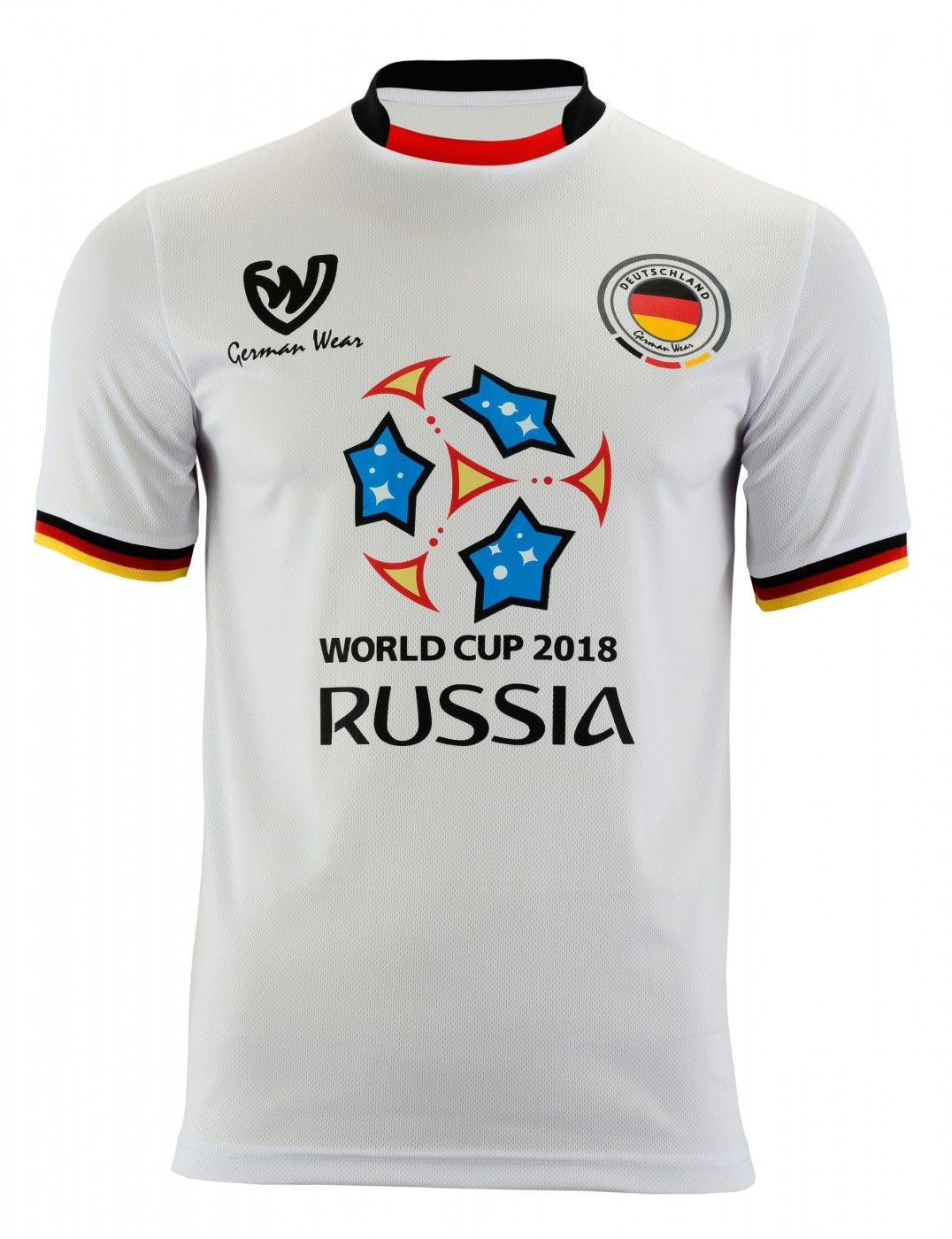Deutschland Wm 2018 Fan Trikot Fussballtrikot Fussball Weltmeisterschaft Fussballtrikot Weltmeisterschaft Deutschland Trikot