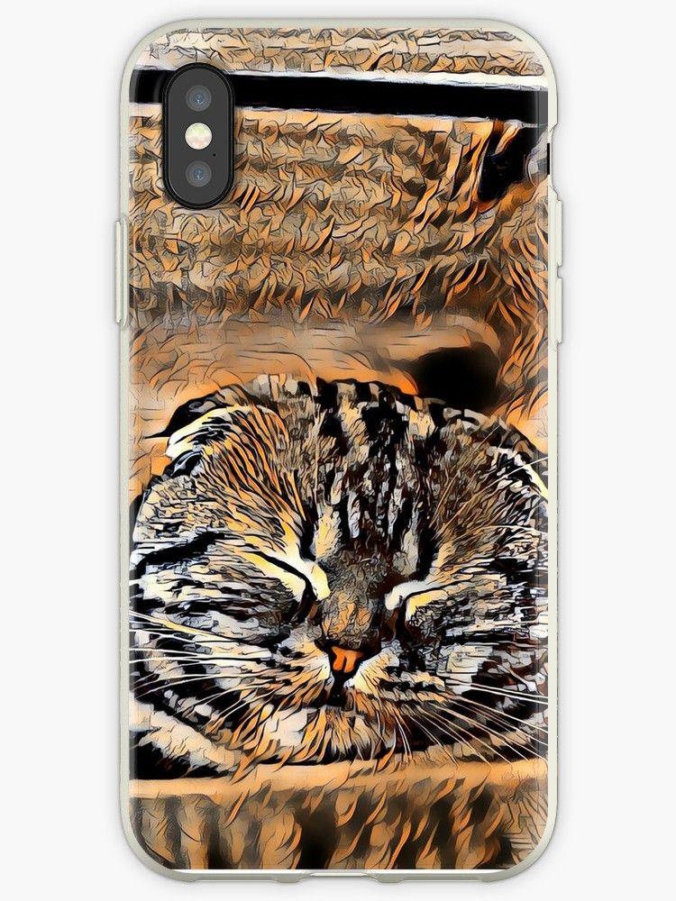 iphone case skin cat
