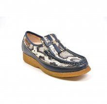 British Collection Windsor Limited-Navy Python Skin and Leather ... ec94c2cf4
