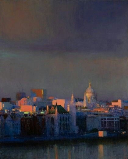 Andrew Gifford / From South Bank Towards the City 2012