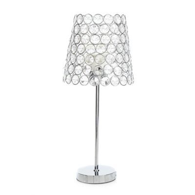 Star by julien macdonald crystal beaded table lamp