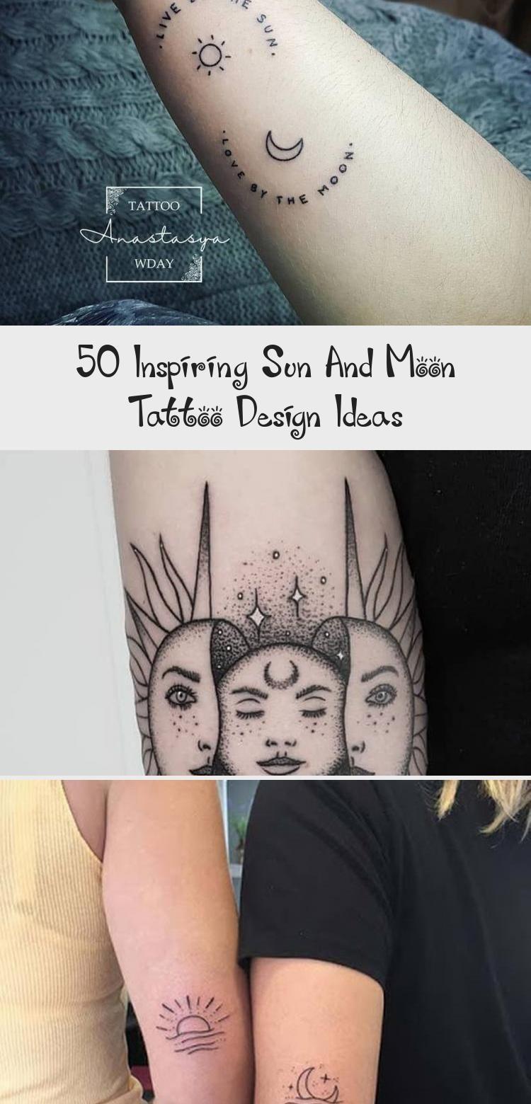 50 inspirierende Tattoo-Design-Ideen für Sonne und Mond #tattooideasSmall #Unusualtattooid ... -  50 inspirierende Tattoo-Design-Ideen für Sonne und Mond #tattooideasSmall #Ungewöhnliche Tattooid - #compasstattoo #design #flowertattoo #für #ideen #inspirierende #Mond #moontattoo #naturetattoo #sonne #tattoo #TattooDesignIdeen #tattooideassmall #tinytattoo #treetattoo #und #unusualtattooid
