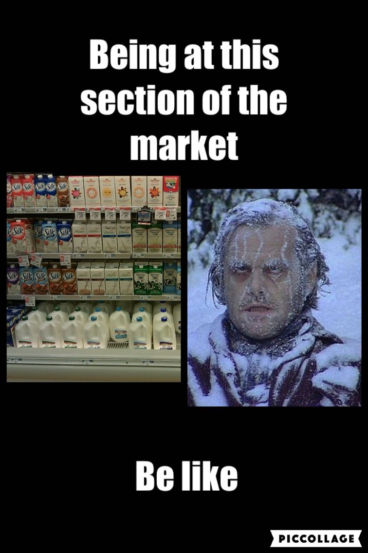 Me at that section of the market