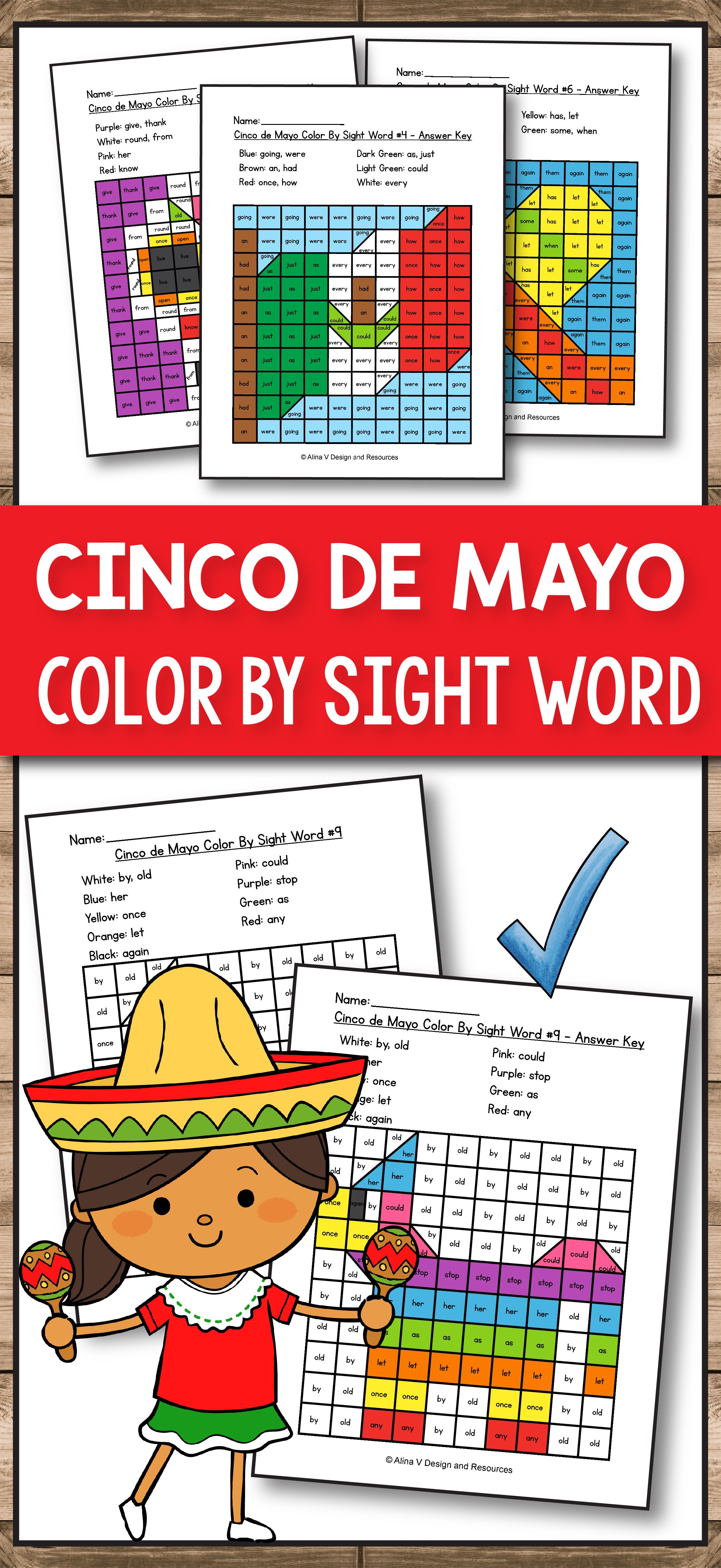 Cinco De Mayo Worksheet 3rd Grade