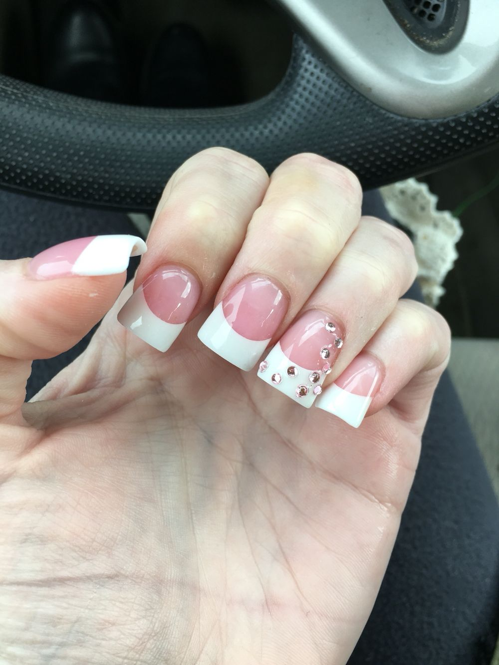 Wide French Tip Nails | Best Nail Designs 2018