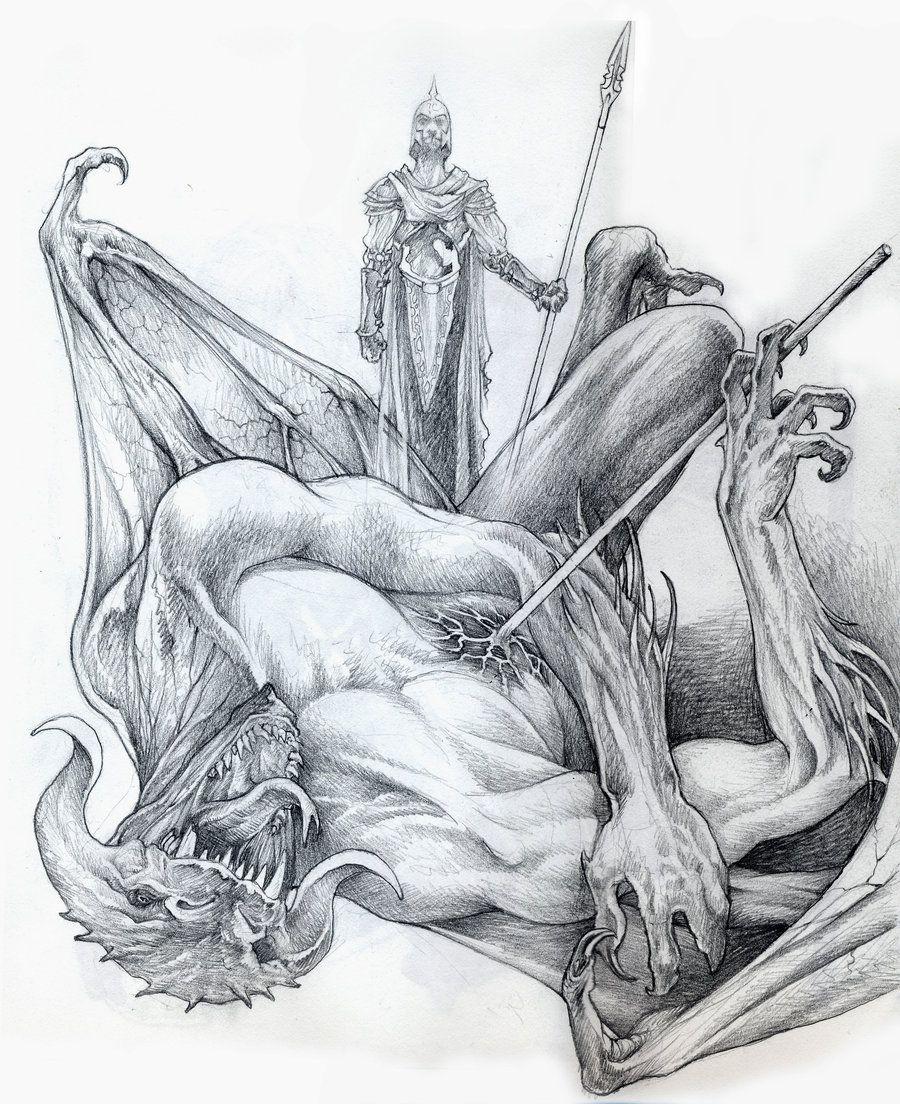 Ecthelion and Gothmog sketch by DanielGovar.deviantart.com on @DeviantArt