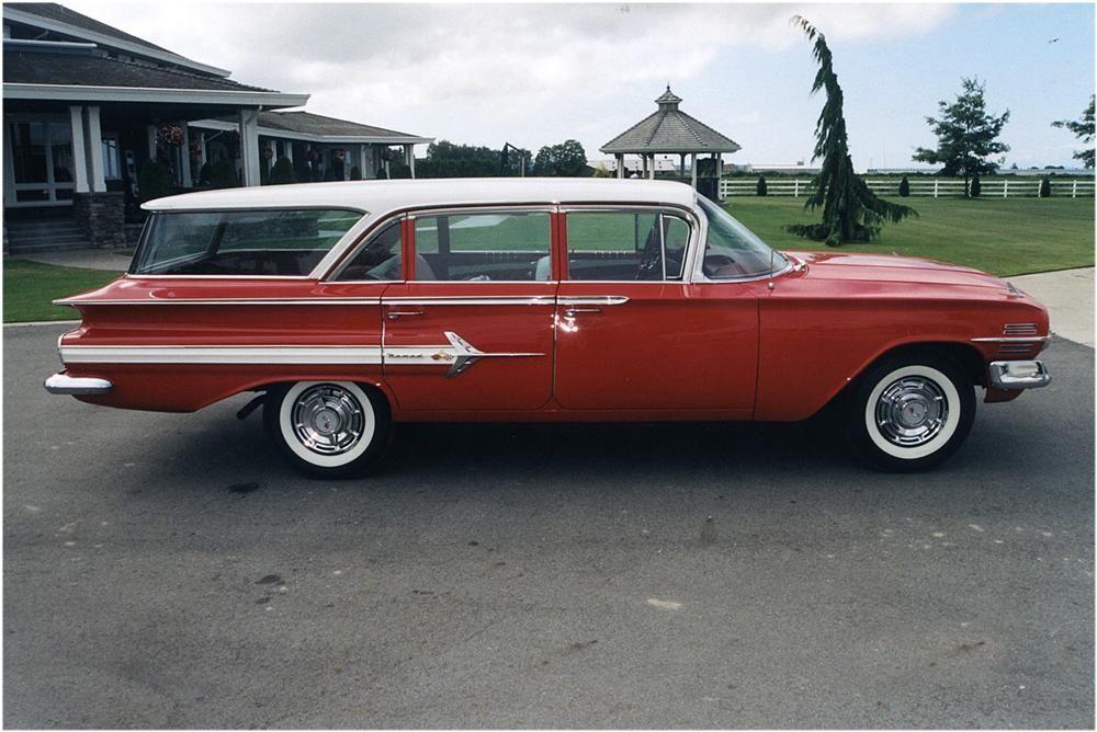 1960 Chevrolet Nomad 4 Door Station Wagon Barrett Jackson Auction