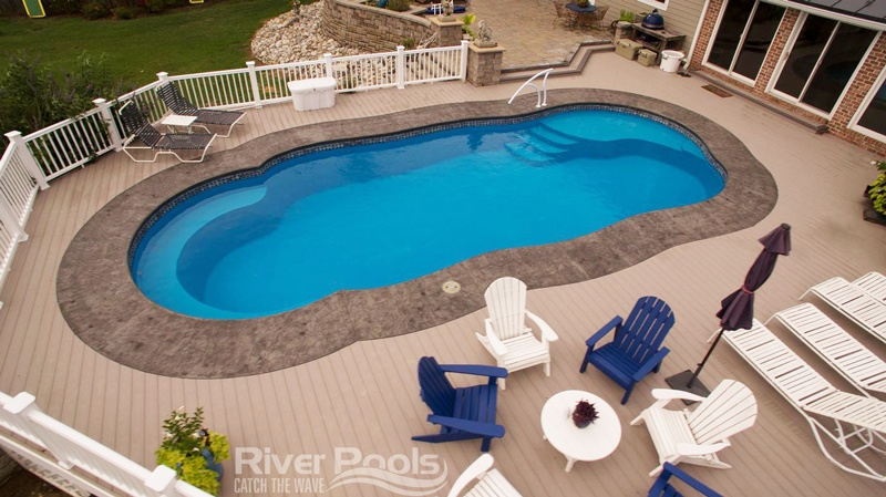 What Are The Best Fiberglass Pool Shapes Inground Pool Shapes Swimming Pool House Pool Shapes