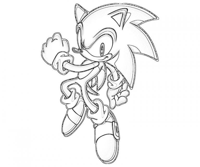 Free Printable Sonic The Hedgehog Coloring Pages For Kids Coloring Pages Hedgehog Colors Super Coloring Pages