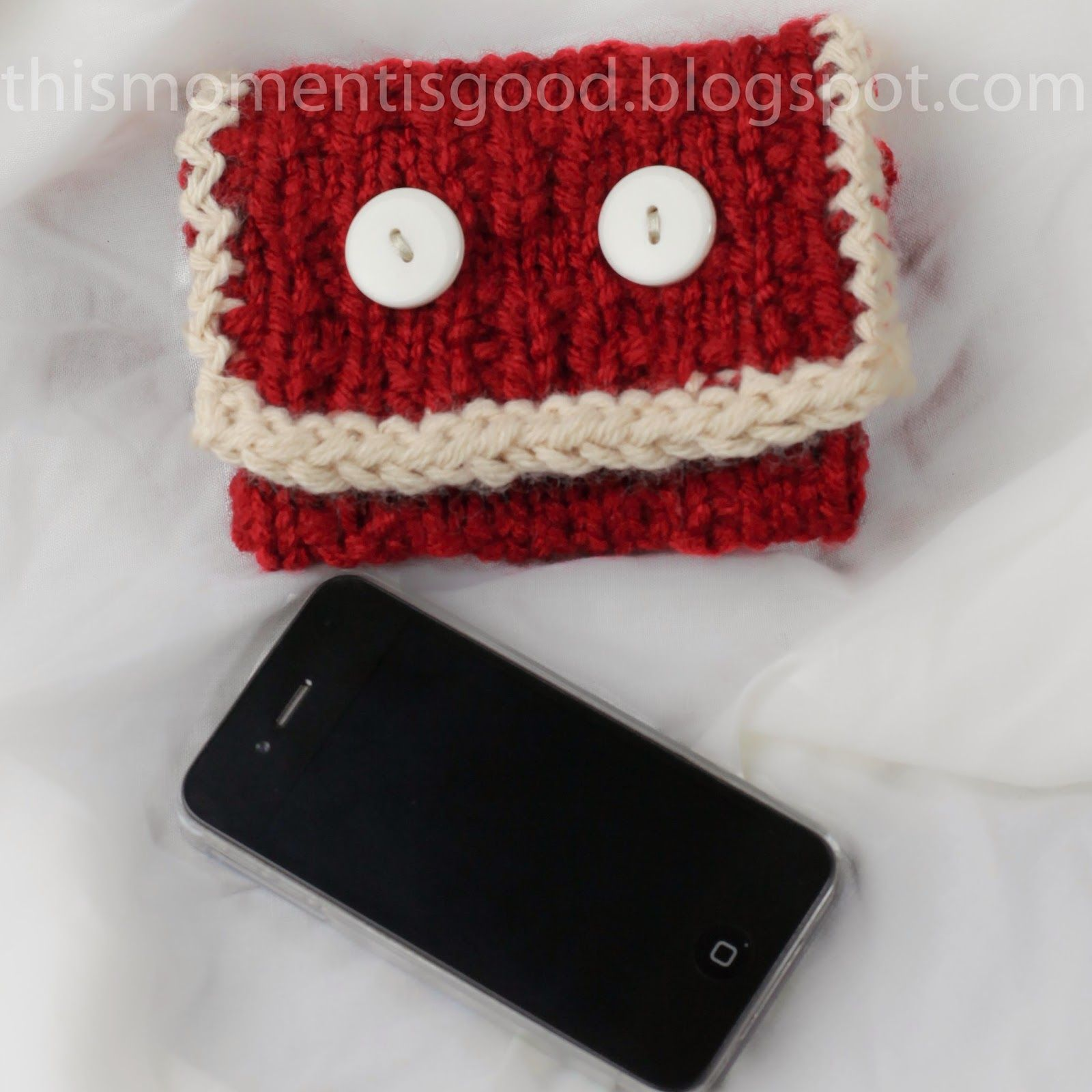 Free Loom Knit Iphone Sleeve Pattern Loom Knitting Patterns