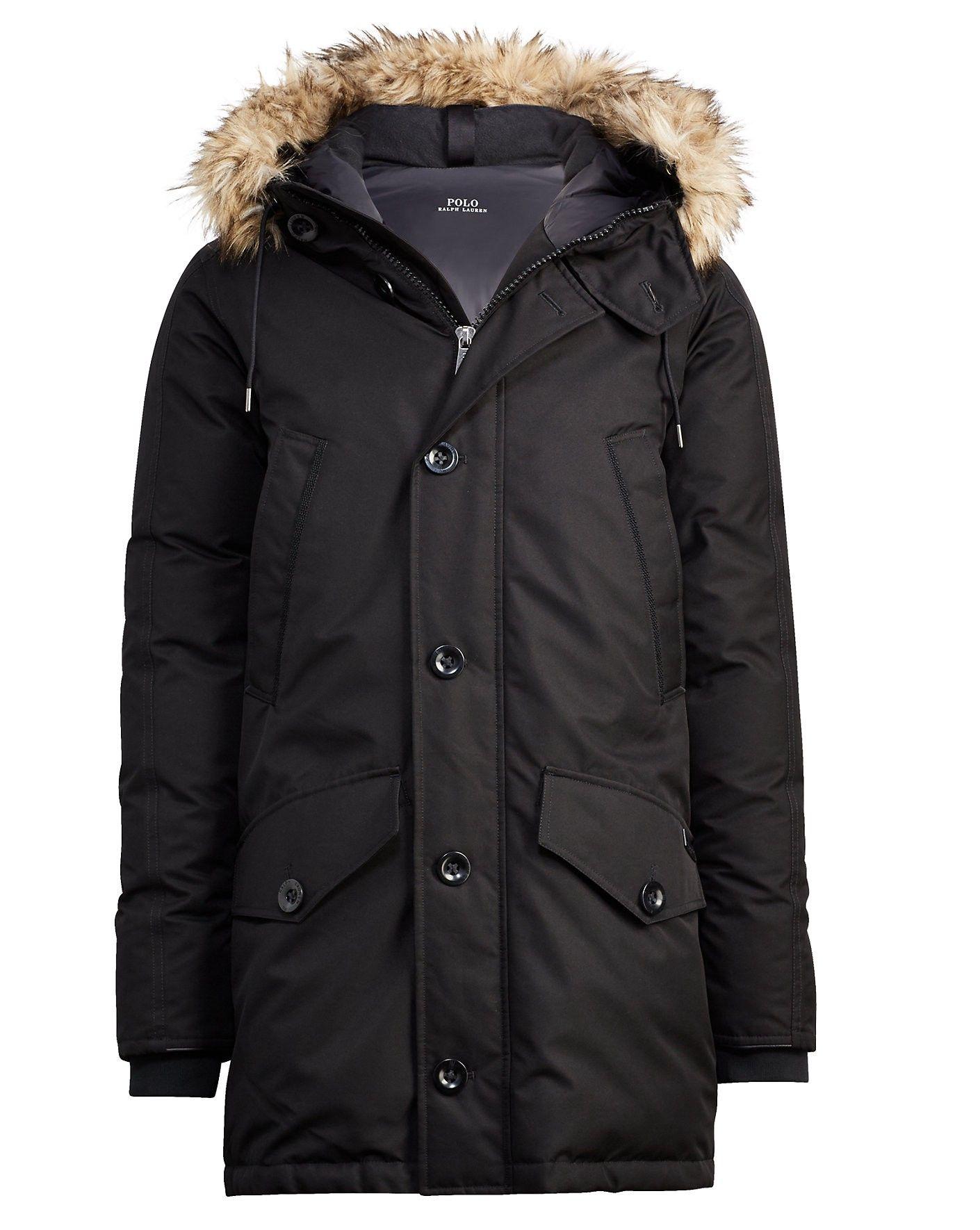 RALPH LAUREN Polo Ralph Lauren Faux Fur–Trimmed Down Parka.  ralphlauren   cloth   aa97ce067d51