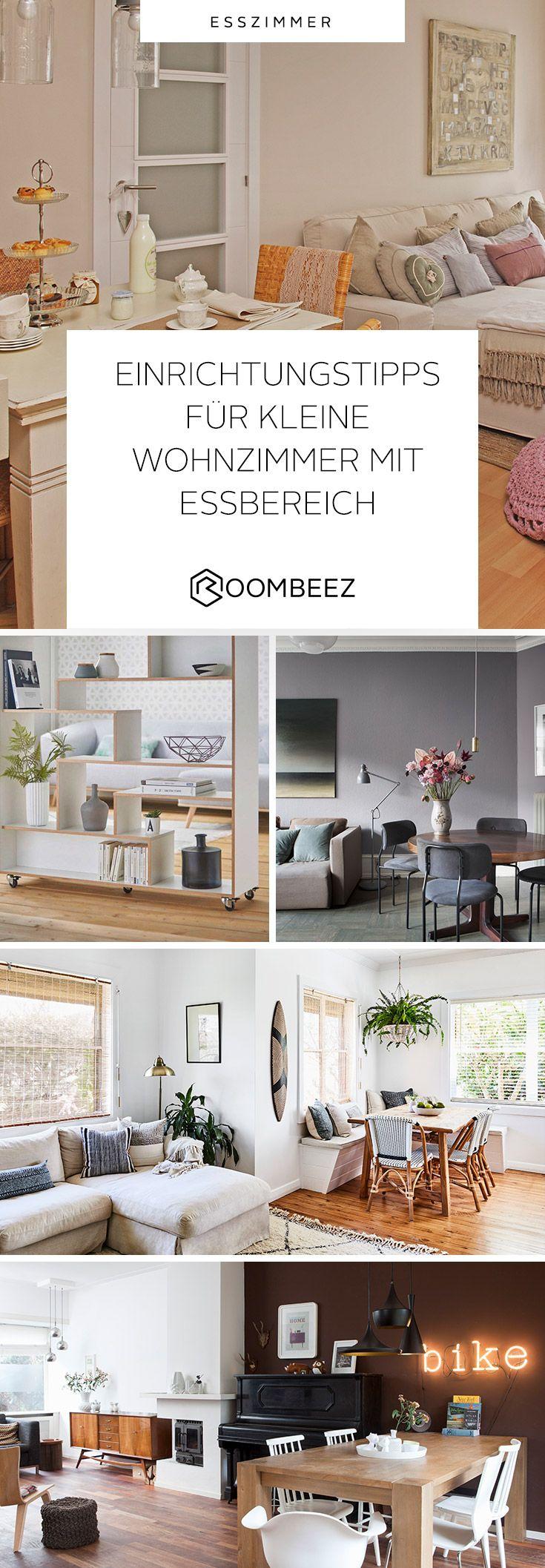 kleines wohnzimmer mit essbereich einrichtungstipps roombeez