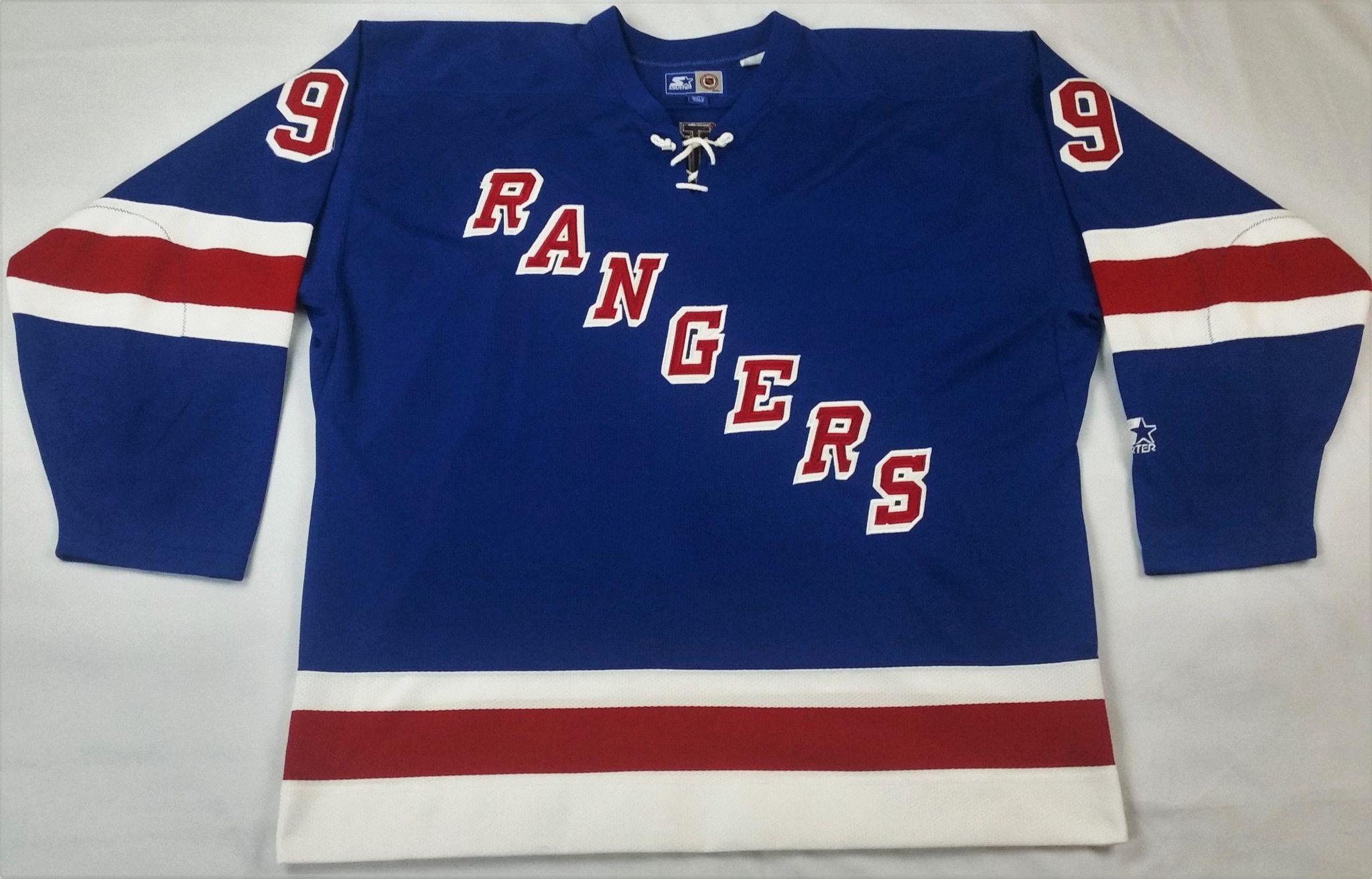 Wayne Gretzky Starter Jersey New York Rangers Vintage NHL Rare Alternate  Men XXL 805375391