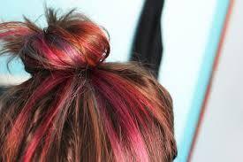 dark hair with rainbow highlights - Google 검색