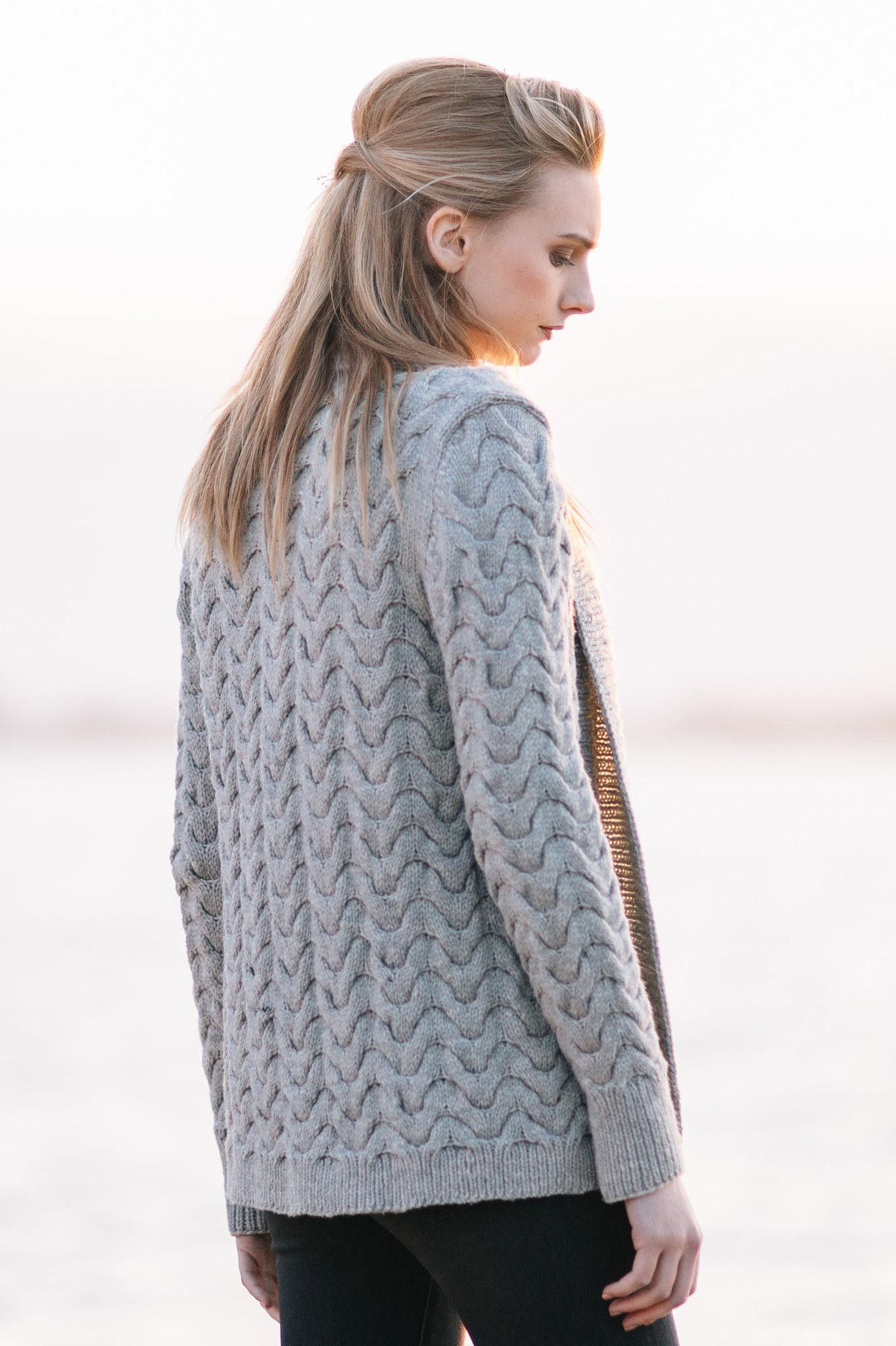 pierside cardigan / from the book \