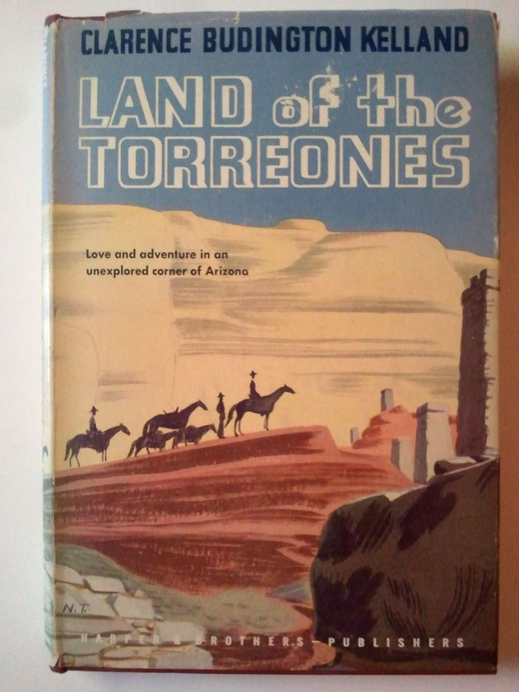 1945- Land of the Torreones-Clarence Budington Kelland-Western-1st Edition-HC/DJ