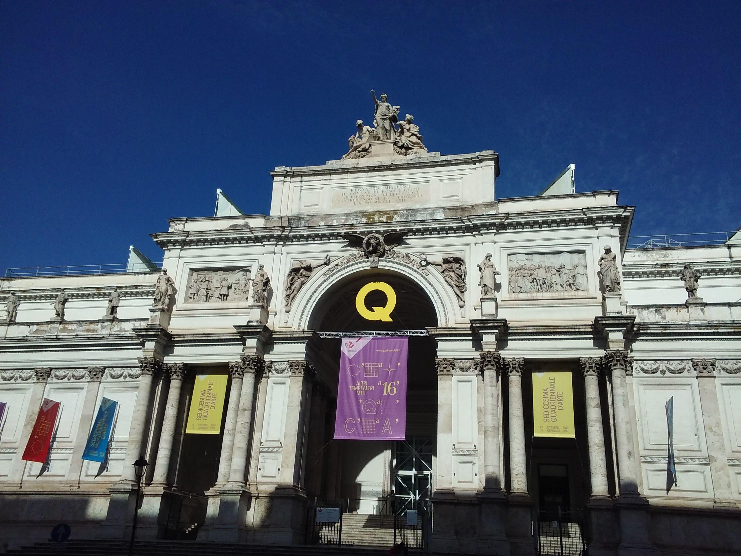 Un Centro de Artes en la Vía Nazionale, Roma.