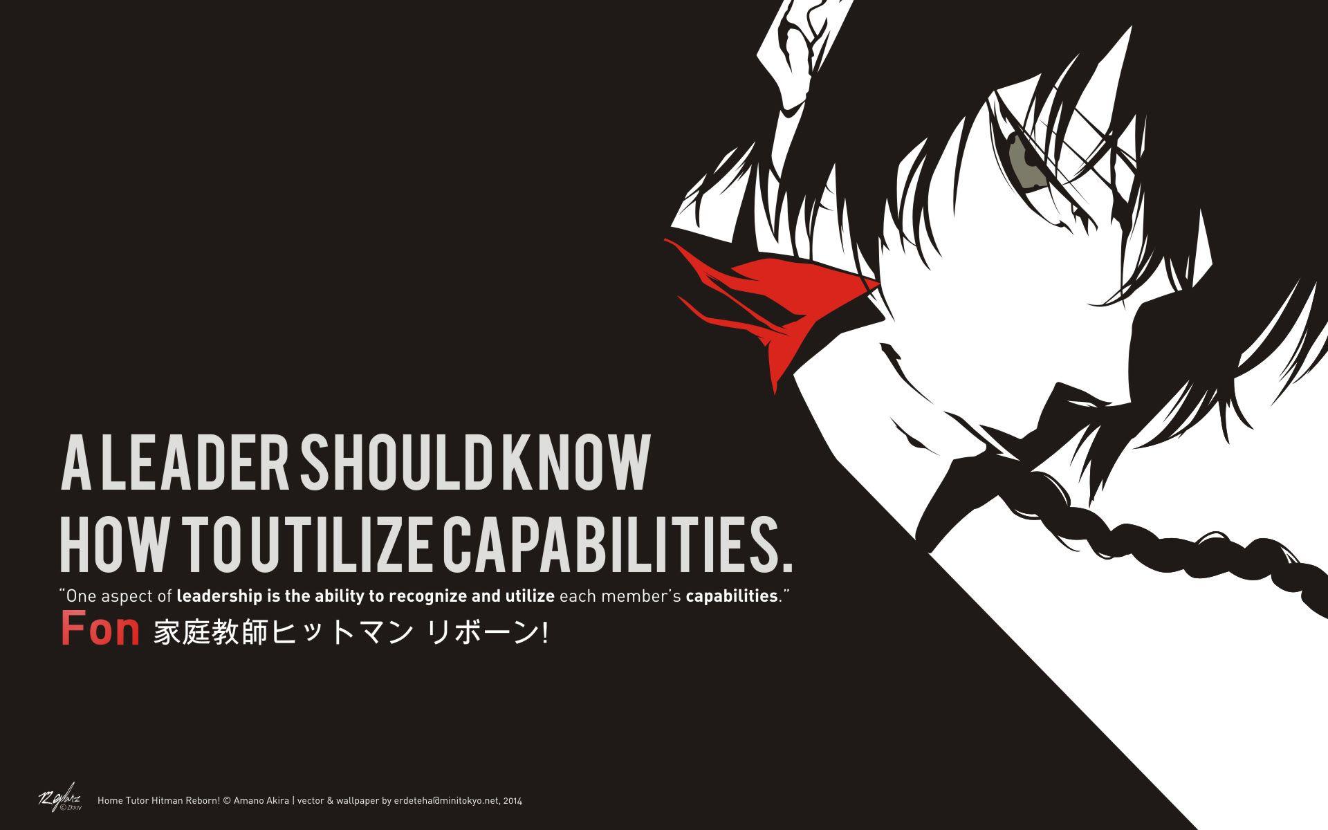 Katekyo hitman reborn inspiring quotes manga anime