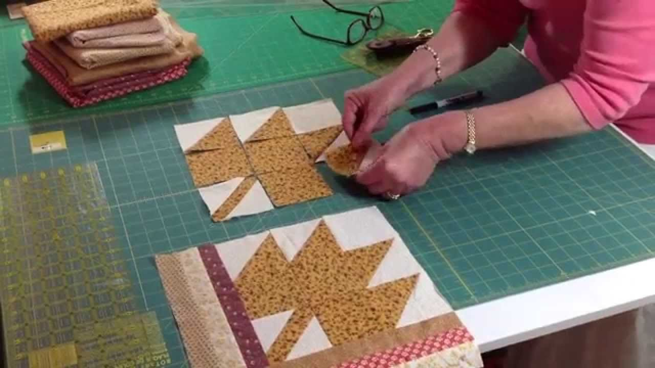 Check out the newest free block pattern from Abracadabra Quilting ... : fall quilt patterns free - Adamdwight.com