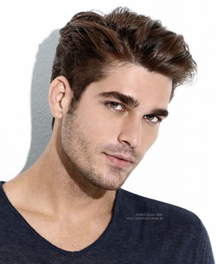 Long Top Short Side Haircut Men39s Hair Cut At The Sides And Left Longer On