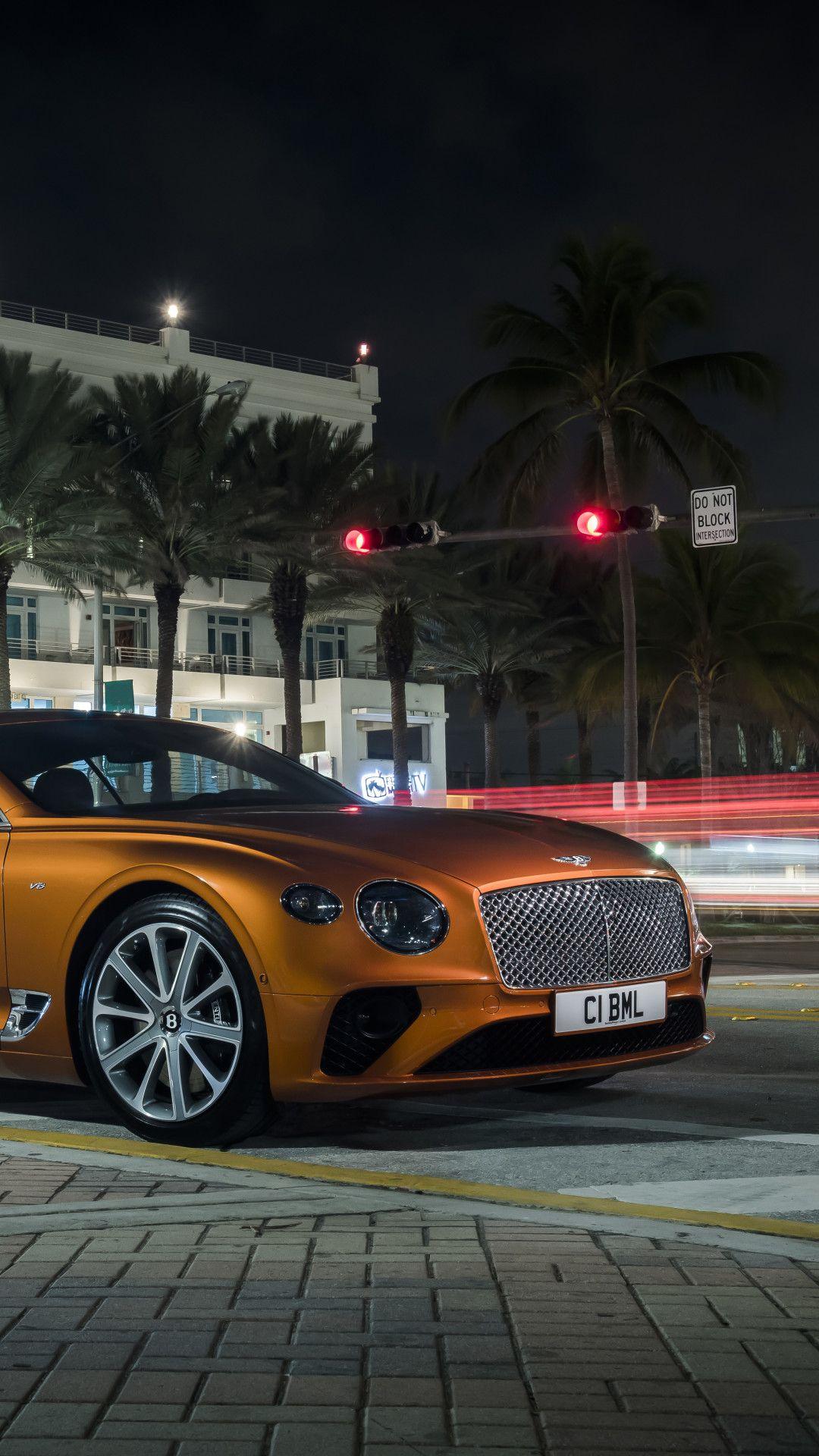 2019 Bentley Continental Gt V8 8k Mobile Wallpaper Iphone