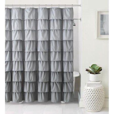 VCNY Sally Ruffle Shower Curtain