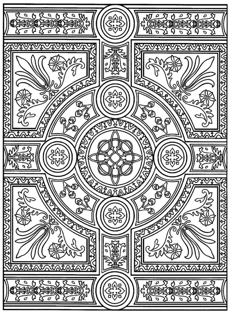 Adult Zen Anti Stress To Print Parquet Patterns Coloring Pages Printable And Book For Free Find More Online Kids