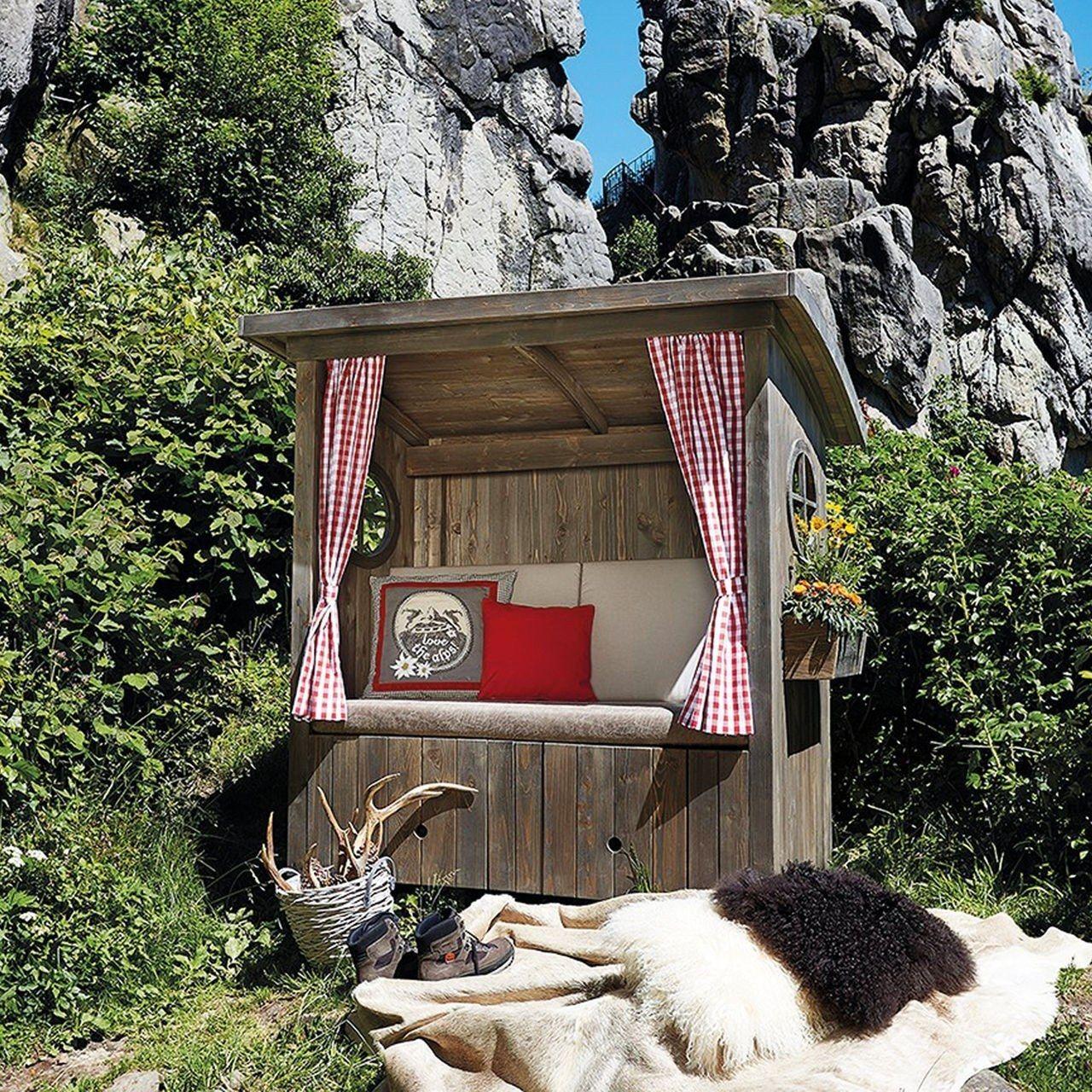 Hüttenzauber für zuhause Märchenhafte Alpenhütte für den