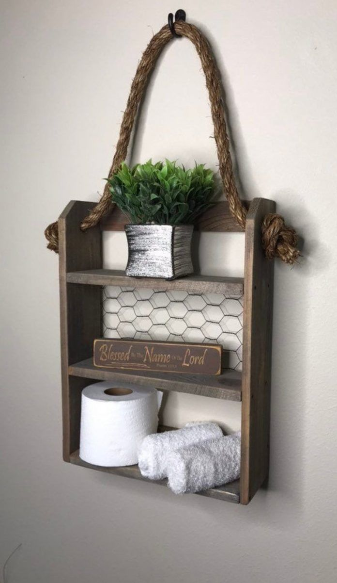 Photo of 20 Over the Toilet Storage Ideas for Small Bathrooms
