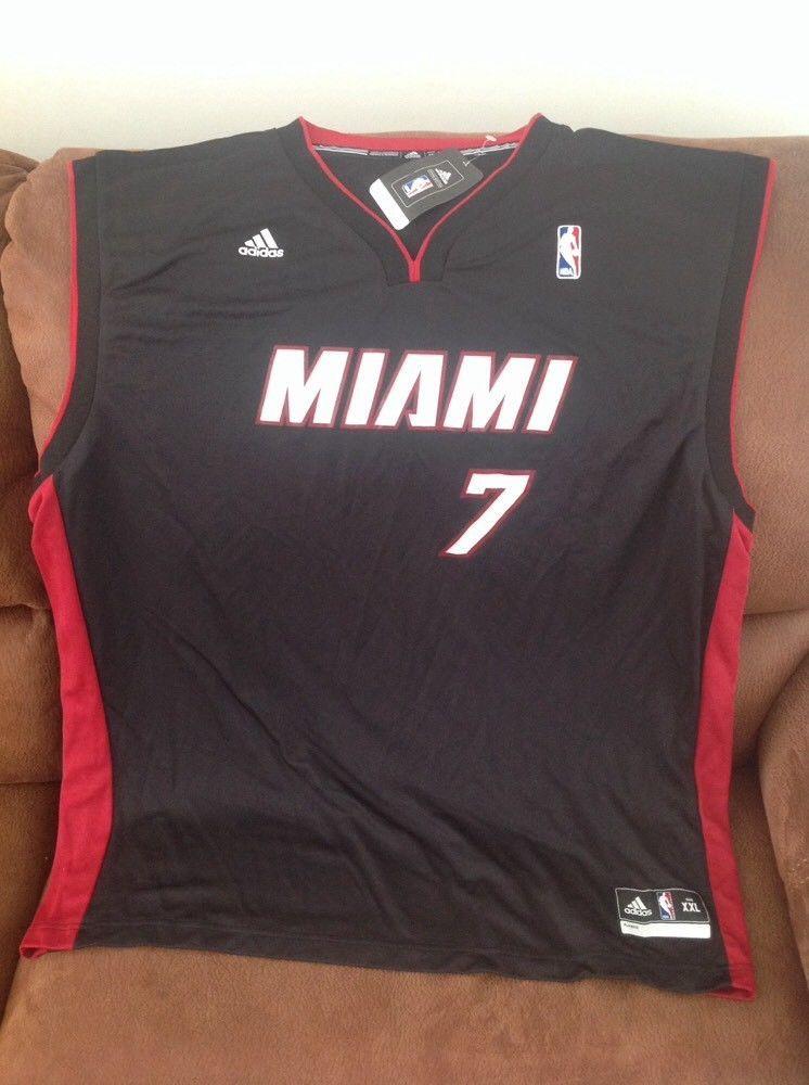 30f143674fa Adidas Miami heat goran dragic  7 basketball jersey NWT size 2XL mens